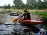 kajakarstwo zwałkowe, spływ w Borach Tucholskich