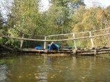 kajakarstwo zwałkowe, spływ jeziorką, kajakarstwo nizinne