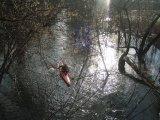 kajakarstwo zwałkowe, kajakarstwo zimowe, spływ molnicą, kraską, jeziorką