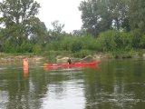 kajakarstwo długodystansowe, spływ Wisłą, Narwią i Kanałem Żerańskim