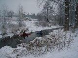 kajakarstwo zwałkowe, spływ Promnikiem, kajakarstwo zimowe