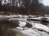 kajakarstwo zwałkowe, kajakarstwo zimowe, spływ świdrem