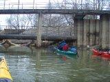 Spływ wisłą, kajakarstwo zimowe, trening kajakarski